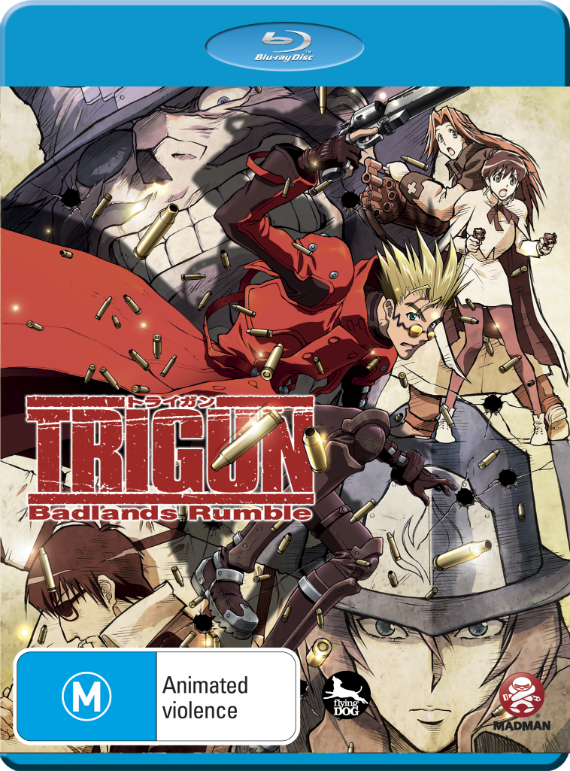 Trigun - Badlands Rumble [DVDRIP] [MULTI] X264 [UL] [TB]