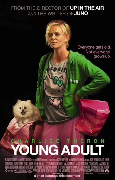 Young Adult poster Paramount has sent over five clips from the latest ...