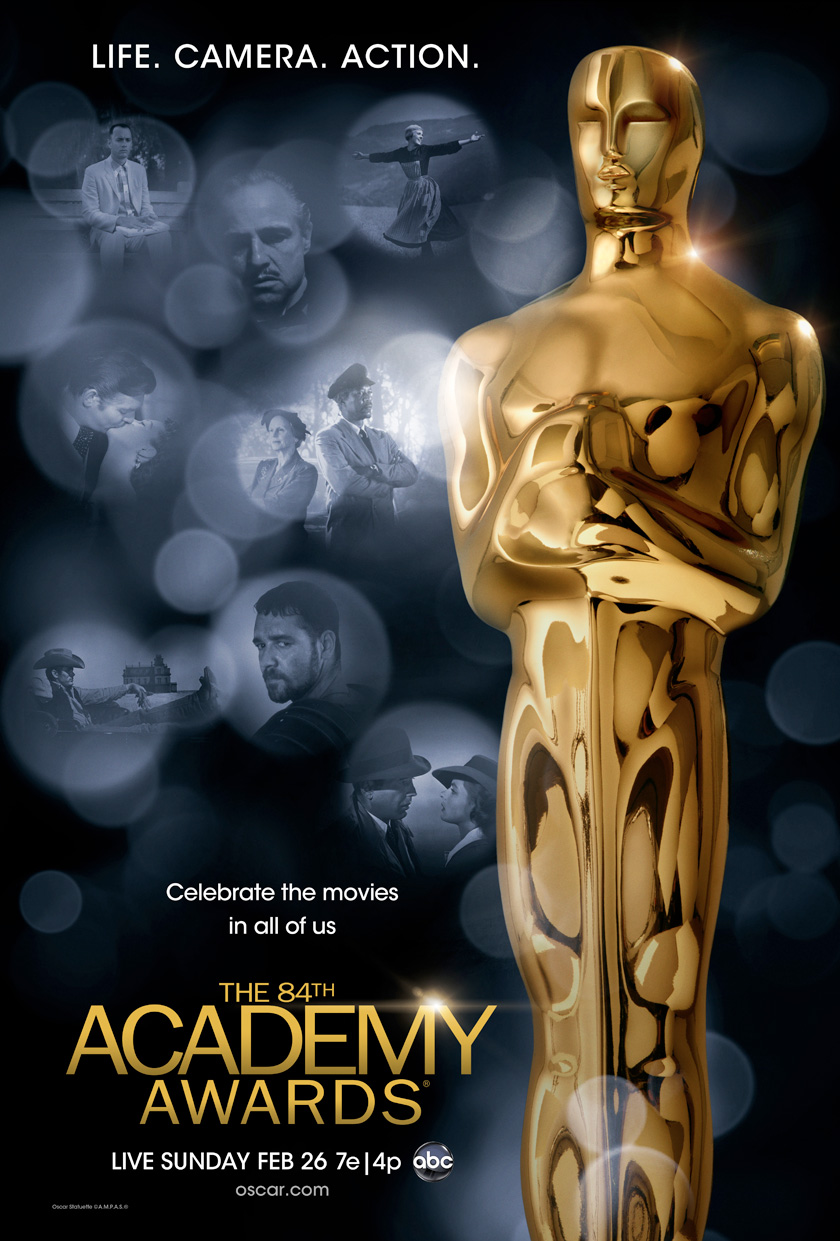 84th Academy Awards poster (2012)