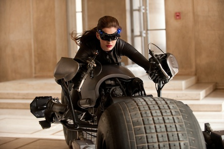 The Dark Knight Rises - Anna Hathaway as Catwoman