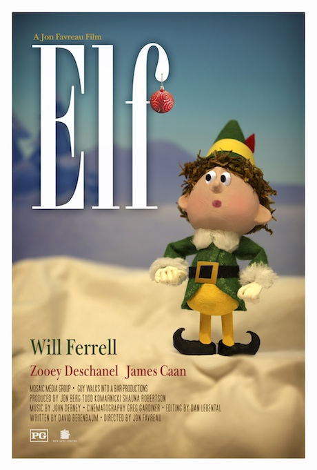 Elf poster - Hopko Designs