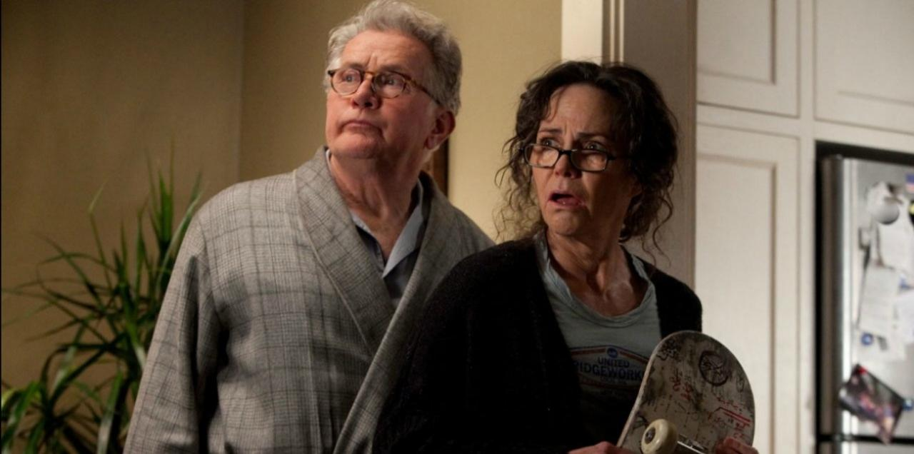 The Amazing Spider-man - Uncle Ben (Martin Sheen) and Aunt May (Sally Field)