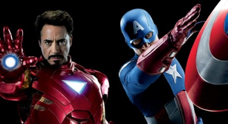 The Avengers Banner - Captain America and Iron Man