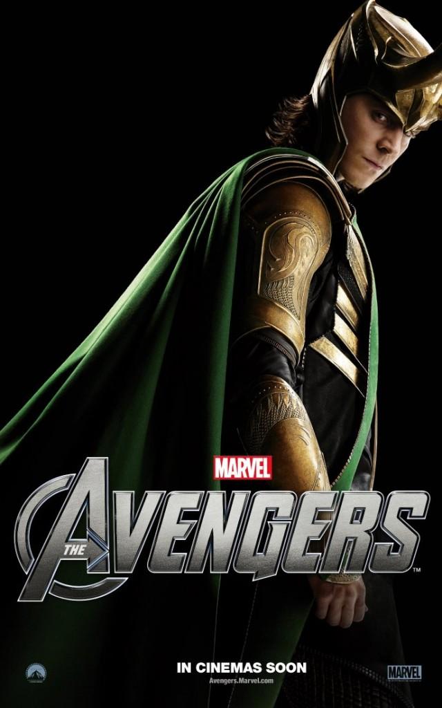 The Avengers poster - Australia - Loki