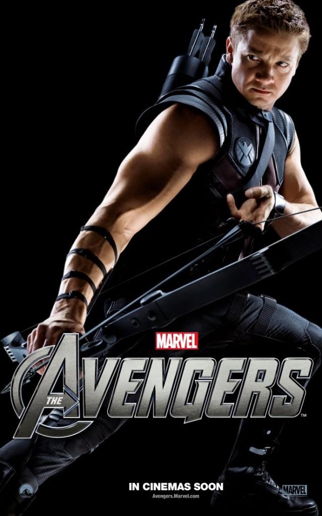 The Avengers poster - Australia - Hawkeye