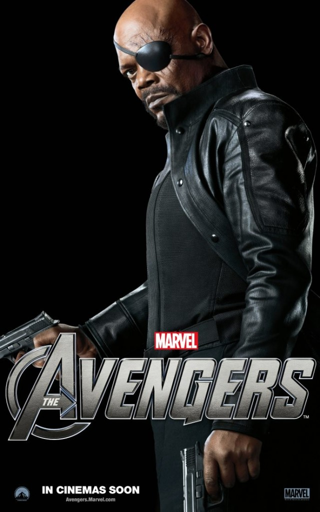 The Avengers poster - Australia - Nick Fury