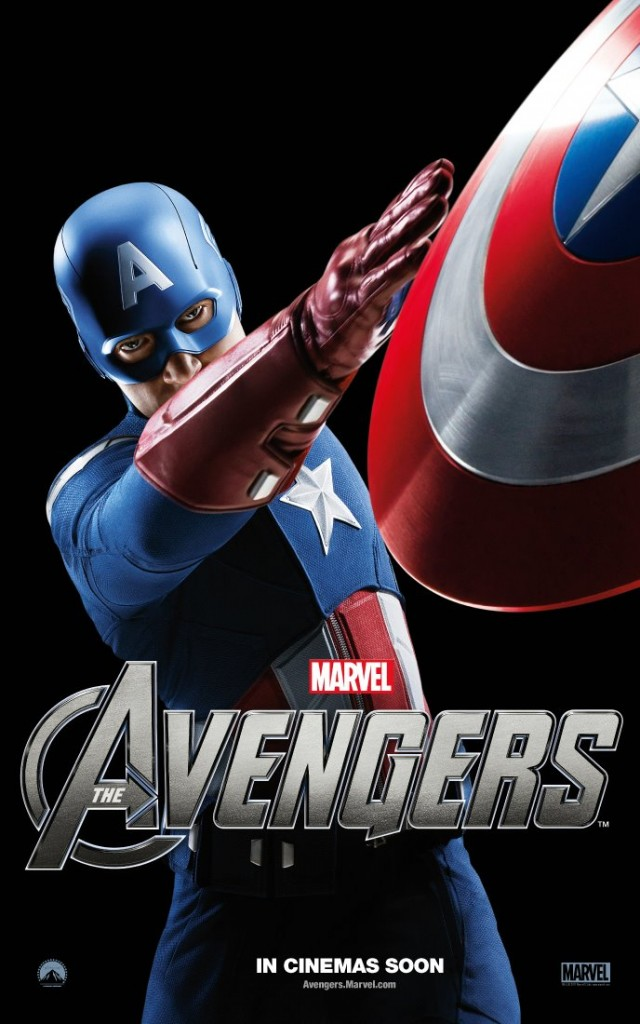 The Avengers poster - Australia - Captain America