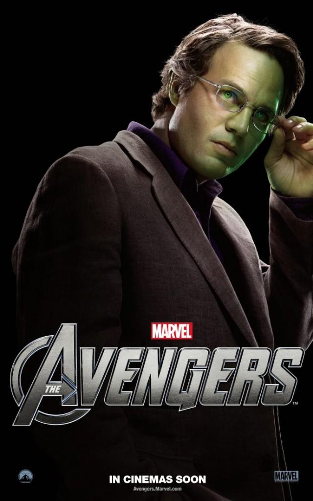 The Avengers poster - Australia - Bruce Banner (Hulk)
