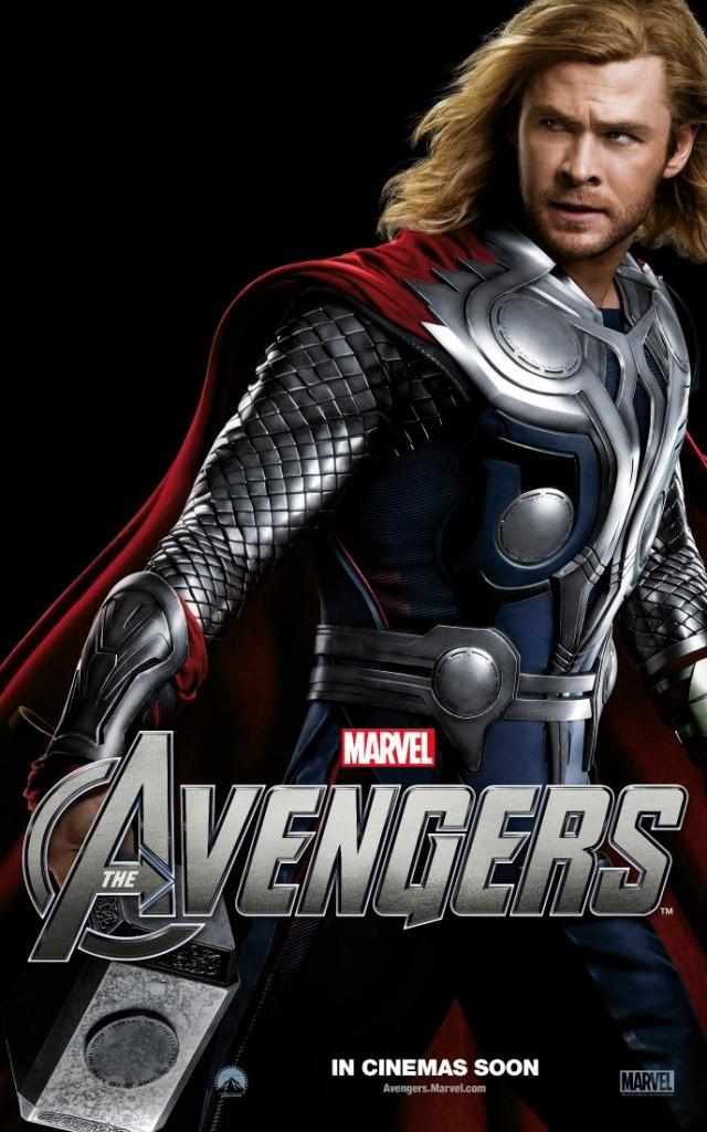 The Avengers poster - Australia - Thor