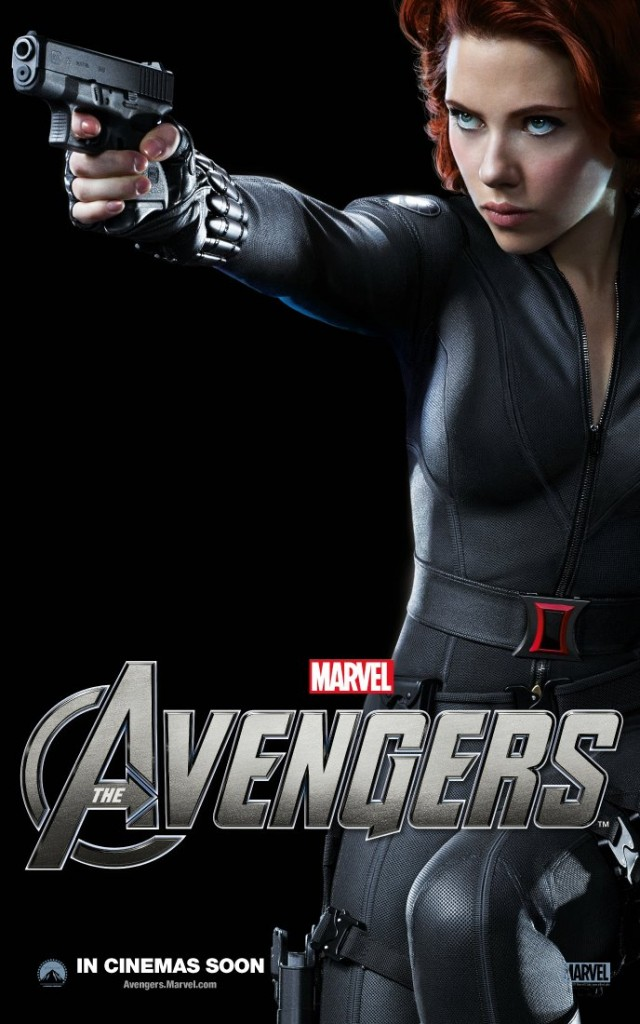 The Avengers poster - Australia - Black Widow