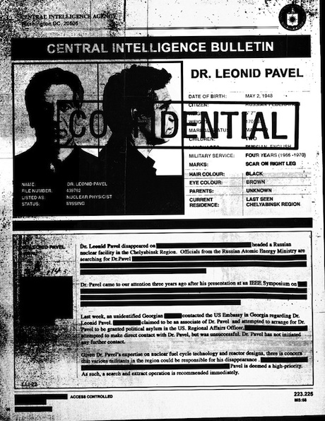 Dr. Leonid Pavel - Confidential