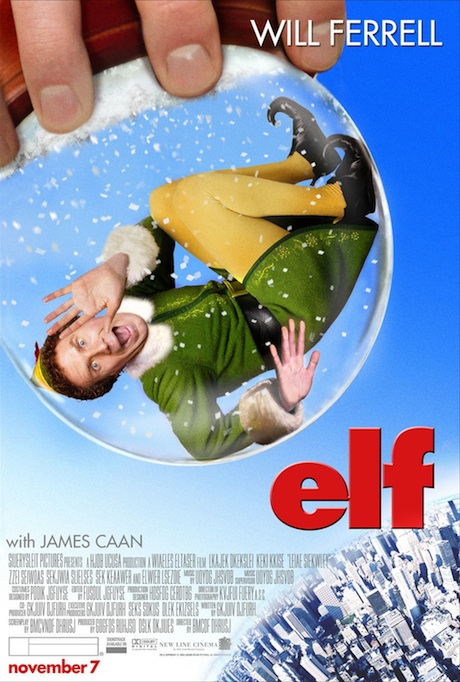 Elf poster - Will Ferrell