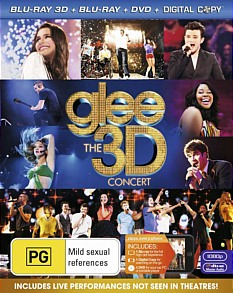 Glee – The 3D Concert Movie Blu-ray