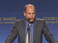 69th Golden Globes Announcement - Woody Harrelson