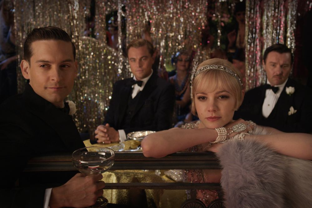 The Great Gatsby - Leonardo DiCaprio, Tobey Maguire, Joel Edgerton and Carey Mulligan