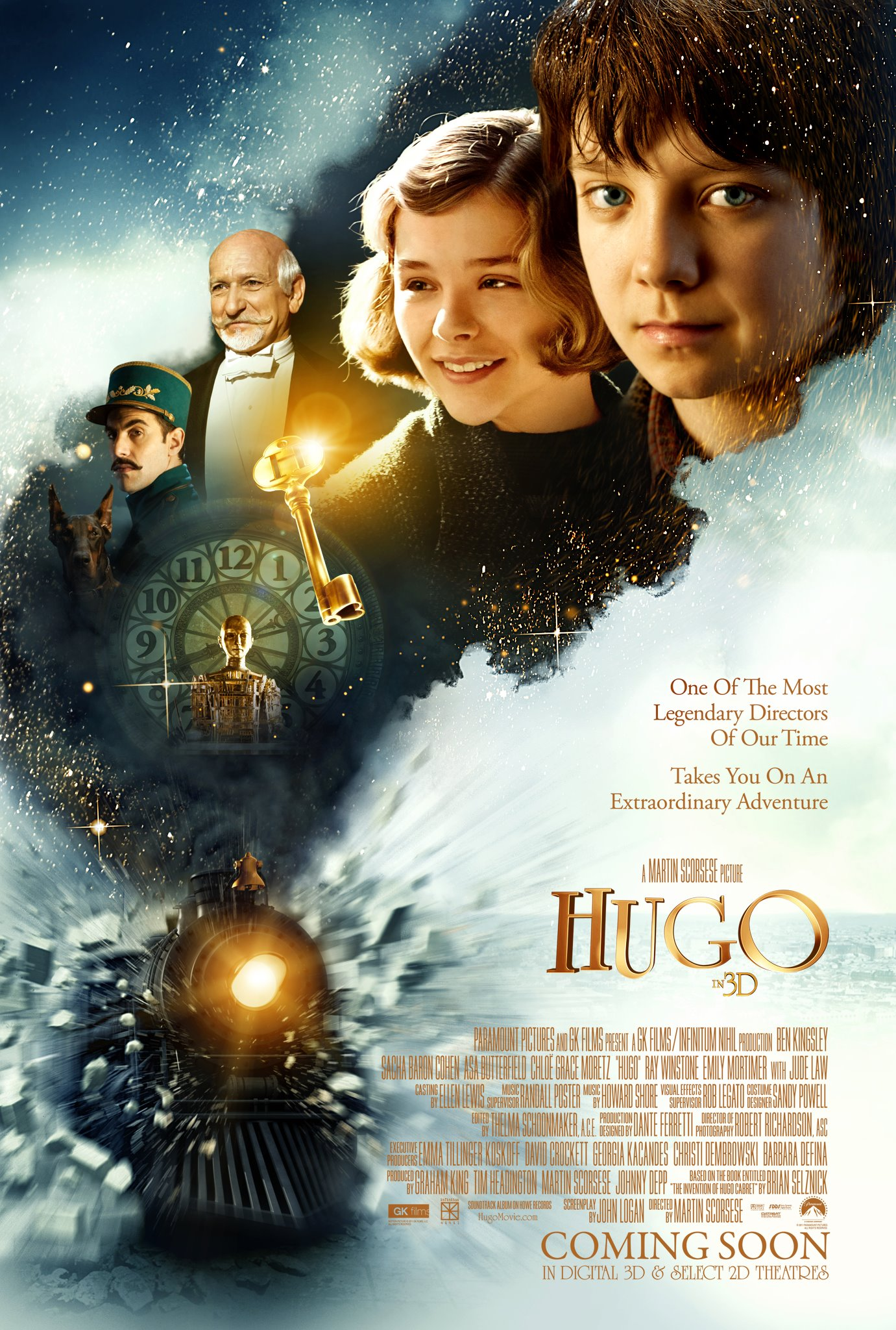 Watch an interview with Martin Scorsese on Hugo – The Reel ... Ben Kingsley