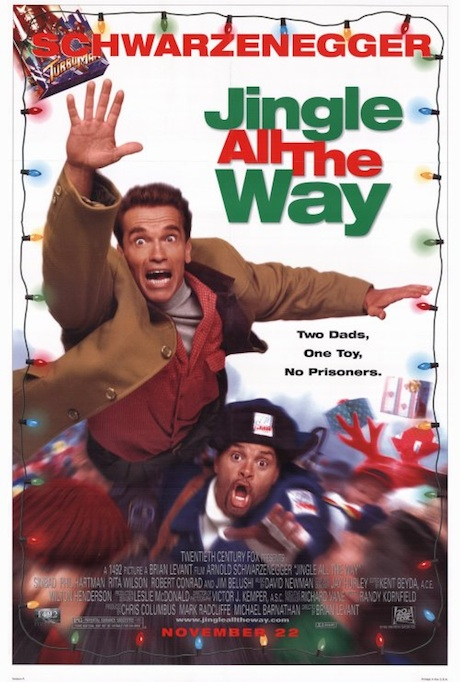 Jingle All the Way (1996) poster - Arnold Schwarzenegger