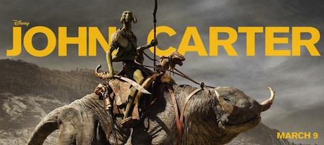 John Carter - banner - Disney