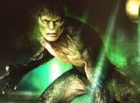 The Lizard - Concept art from The Amazing Spider-man