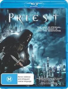Priest Blu-ray cover (Australia)