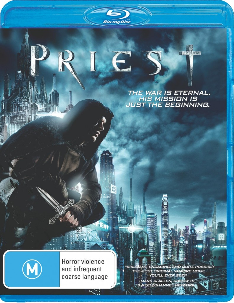 Priest Blu-ray cover (Australia)