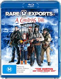 Rare Exports - Blu-ray cover (Australia)