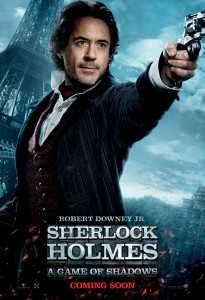 Sherlock Holmes: A Game of Shadows poster (International)
