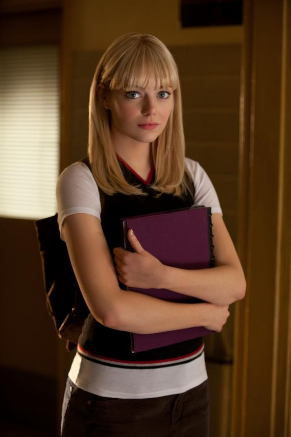 The Amazing Spider-man (2012) - Emma Stone as Gwen Stacy