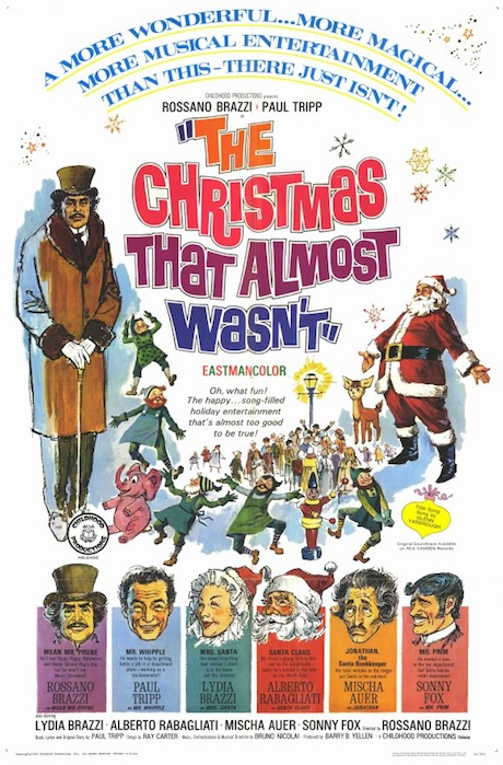 The Christmas That Almost Wasn't (1966) poster