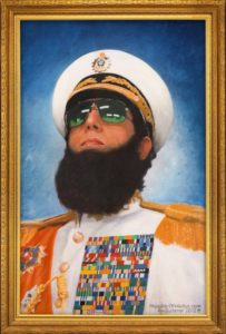 The Dictator teaser poster