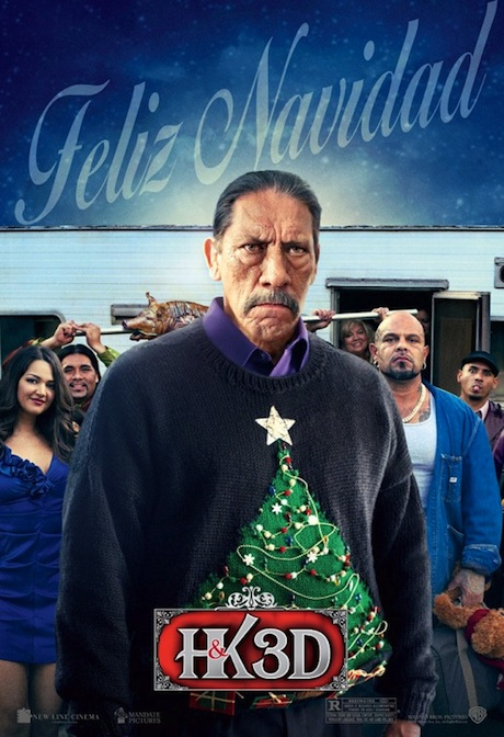 A Very Harold and Kumar Christmas poster - Danny Trejo