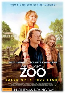 We Bought a Zoo - Australian poster (Fox)