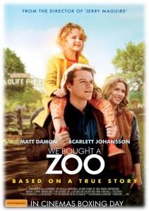 We Bought a Zoo - Australian poster (Fox)