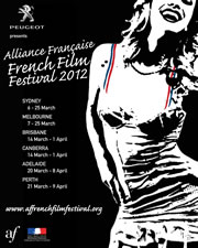2012 Alliance Française French Film Festival poster