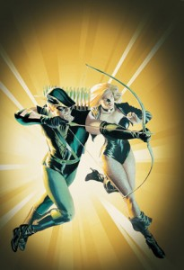 Green Arrow and Black Canary - Alex Ross