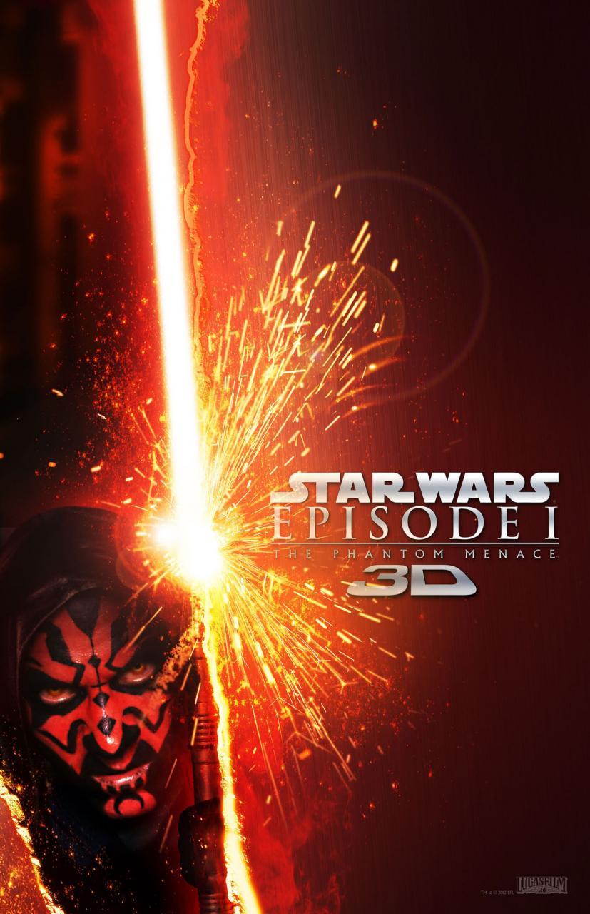 Star Wars: Episode I The Phantom Menace 3D poster - Darth Maul