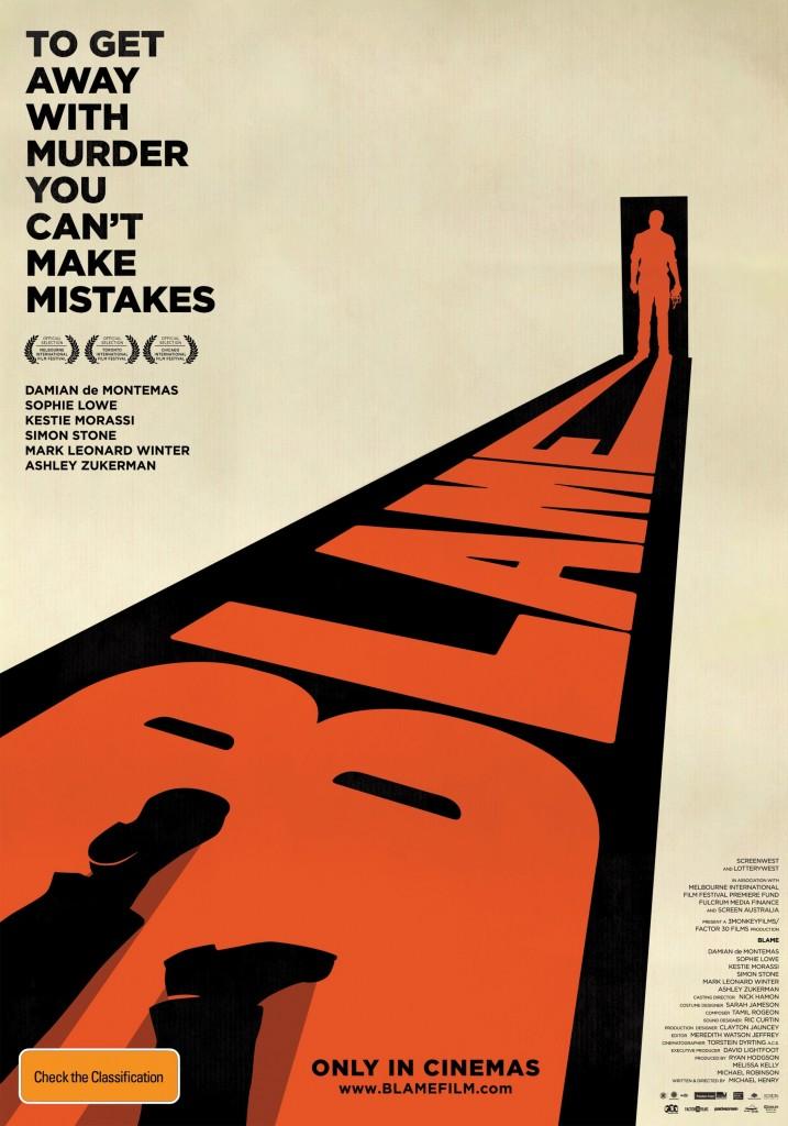 Blame (2011) poster