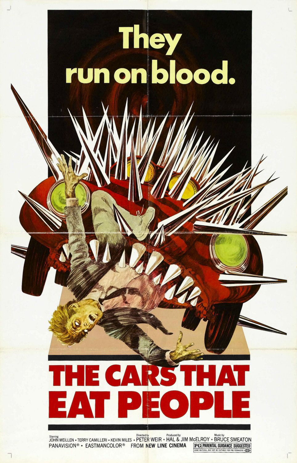 The Cars That Ate Paris (1979) poster