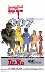 Dr. No poster (James Bond)