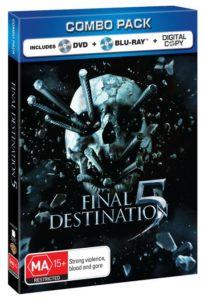 Final Destination 5 Blu-ray DVD Digital Combo Pack