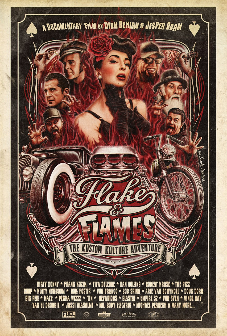 Flakes & Flames poster