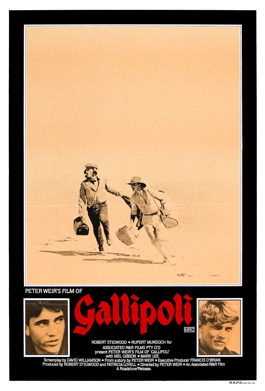 Gallipoli (1981) poster