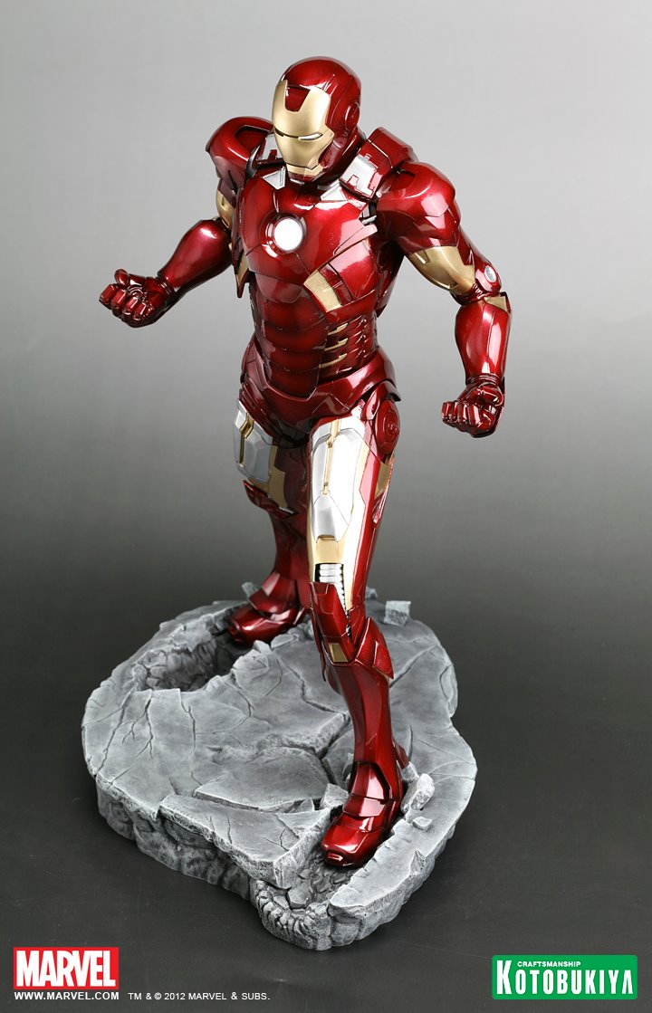 New Statue Reveals The Avengers Iron Man Mark Vii Armour
