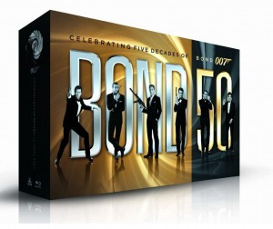 James Bond: 50 (Blu-ray Set)