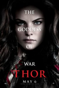 Sif (Jaimie Alexander) poster - Thor