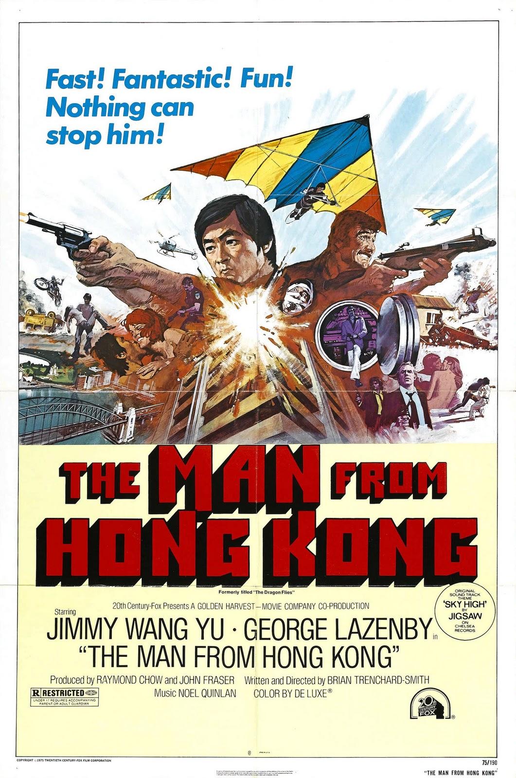 The Man from Hong Kong (1975) poster