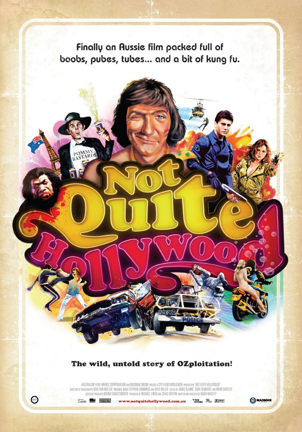 Not Quite Hollywood (2009) poster