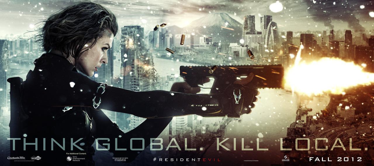 Resident Evil: Retribution Teaser Banner