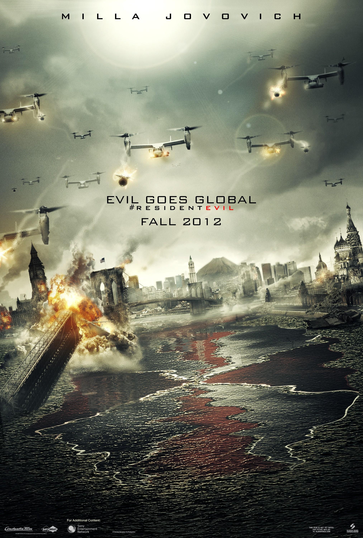 Resident Evil: Retribution Teaser Poster