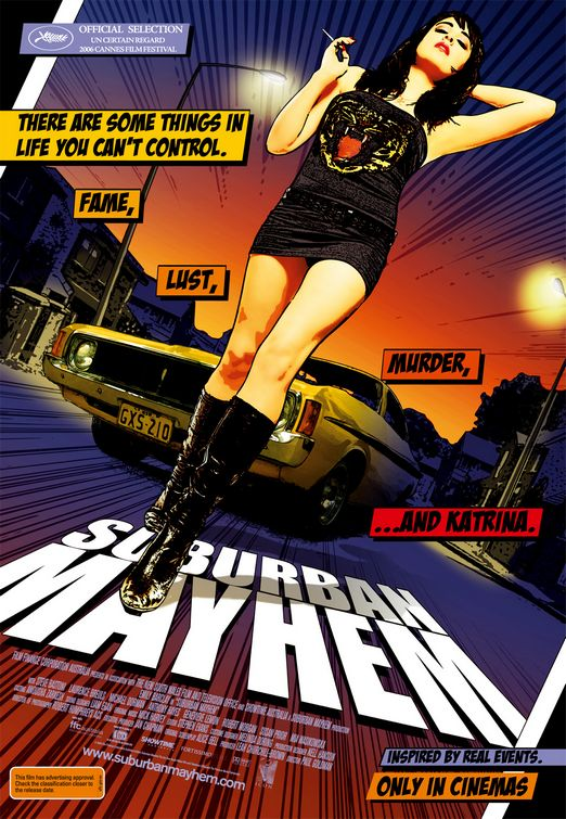 Suburban Mayhem poster (2006) - Australia (Jeremy Saunders)